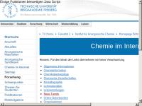 Chemie im Internet