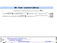 RO Town Locator