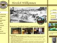 Privatbrauerei Familie Forster, Löwenbräu Bad Wörishofen