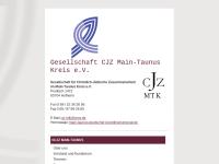 Main-Taunus Kreis - Gesellschaft für Christlich-Jüdische Zusammenarbeit