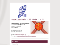 Mainz - Gesellschaft für Christlich-Jüdische Zusammenarbeit