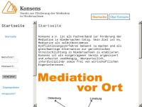 Konsens e.V. Verein zur Förderung der Mediation in Niedersachsen