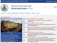 Semmelweis Universität - Deutschsprachige Studiengänge