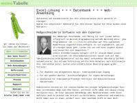 meineTabelle Software und Beratung GmbH & Co. KG