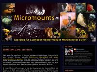 Micromounts Mikromineralien