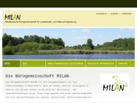 MILAN Mitteldeutsche Bürogemeinschaft für Landschafts- und Naturschutzplanung