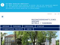 Musikwissenschaftliches Seminar Detmold/Paderborn (MuWi)