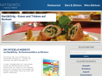 Natt und Droeg - Restaurants auf Borkum