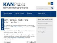 Normen-Recherche Arbeitsschutz (NoRA)