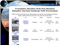 GastgeberNet - Gäste- und Ferienwohnungen in NRW