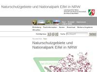 Nationalparke und Naturschutzgebiete in Nordrhein-Westfalen