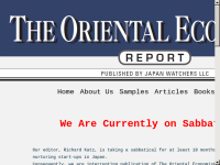 The Oriental Economist