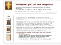 Orthodoxe Literatur in deutscher Sprache