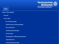Technisches Hilfswerk (THW), Ortsverband Gütersloh