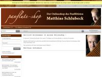 Panflute-shop, Matthias Schlubeck
