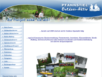 Pfannstiel Outdoor-aktiv