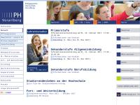 Pädagogische Hochschule Vorarlberg