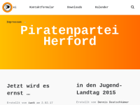 Piratenpartei Deutschland (PIRATEN), Kreisverband Herford