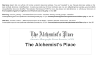 The Alchemist's Place
