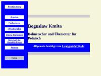 Isabela und Boguslaw Kmita