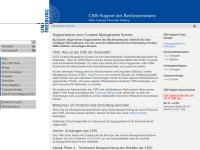 Abteilung Fernerkundung und Landschaftsinformationssysteme an der Universität Freiburg