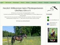 Pferdesportverein Ulm/Neu-Ulm e.V.