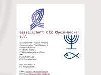Rhein-Neckar - Gesellschaft für Christlich-Jüdische Zusammenarbeit