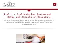 Eiscafe-Pizzeria-Hotel Rialto