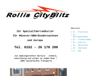 Rollis City-Blitz Fahrradkurier