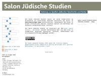Salon Jüdische Studien