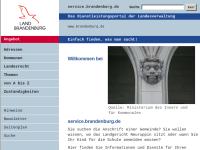 Verwaltungsportal des Landes Brandenburg