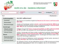 Innenministerium NRW - Redaktion der amtlichen Verkündungsblätter