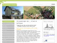 Ferienwohnungen Sittendorf, Unger & Teck GbR