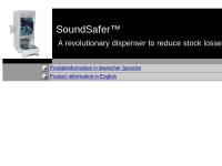 SoundSafer - Wanzl Metallwarenfabrik GmbH
