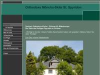 Orthodoxe Mönch-Skite St. Spyridon