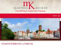 Stadtführung Lübeck, Martina Krecker