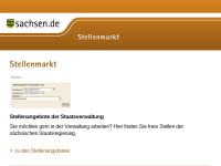 Stellenmarkt.sachsen.de