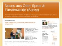 Stephan Wende (Die Linke), Neues aus Oder-Spree und Fürstenwalde (Spree)
