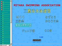 三鷹市水泳連盟