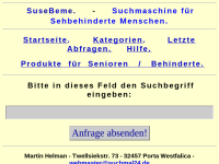 SuseBeme - Suchmaschine