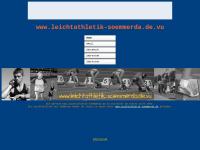 SV Sömmerda, Abteilung Leichtathletik