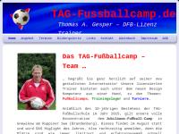 TAG-Fussballcamp – Trainingslager und Turniere