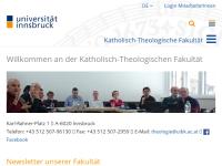 Katholisch-Theologische Fakultät der Universität Innsbruck