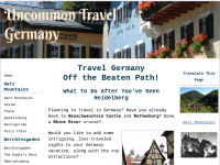 Uncommon Travel Germany
