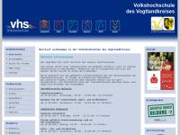 Volkshochschule Vogtlandkreis