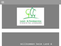 Land & Forstservice, Inhaber: Christiane Wolf
