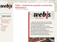 WEBIS - Sammelschwerpunkte