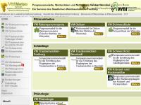 VitiMeteo - Prognosesystem für den Weinbau