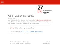 27pro Unternehmensprozesse GmbH