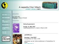 A cappella Chor Villach